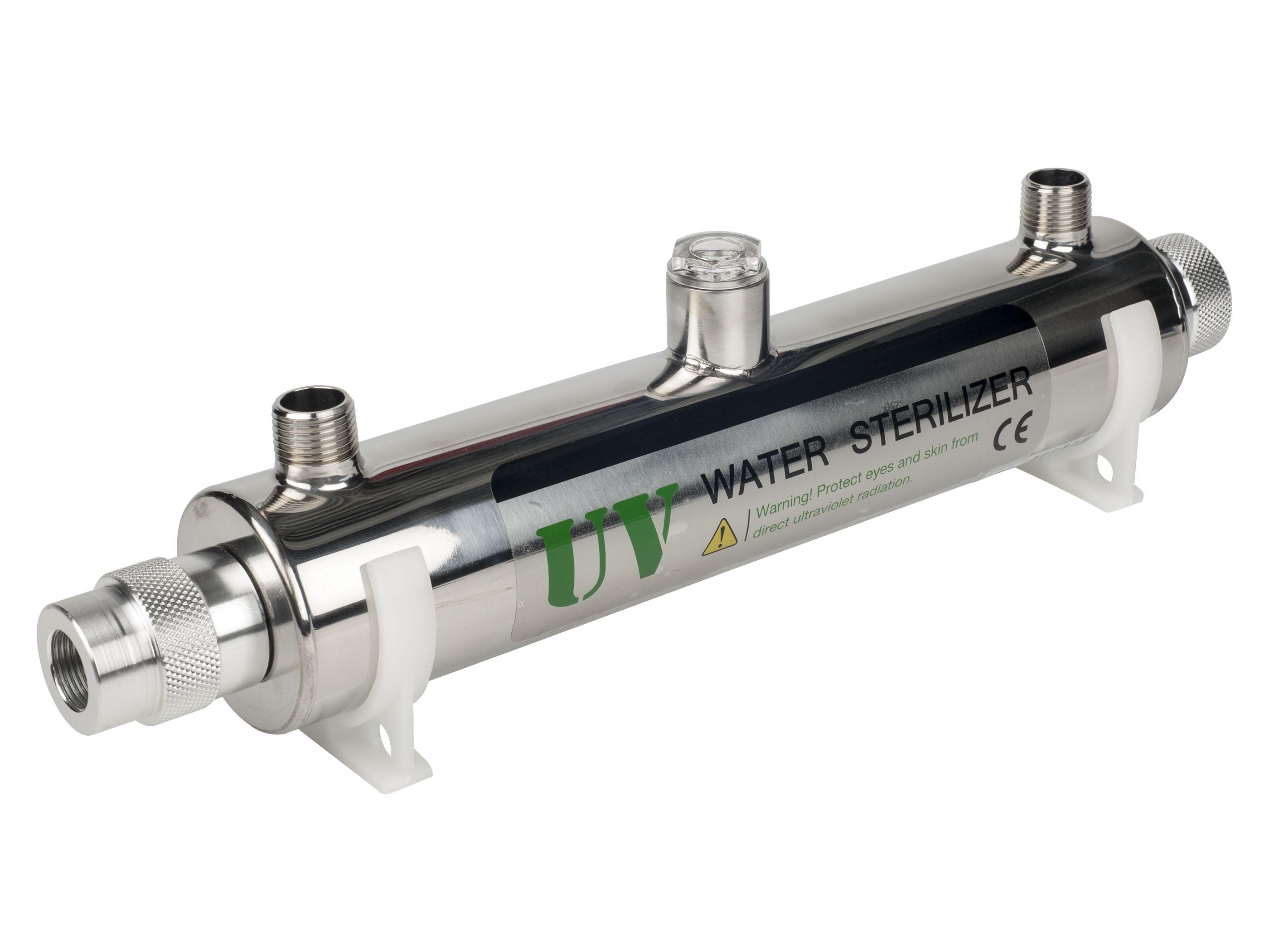 Стерилизаторы воды с УФ-лампой