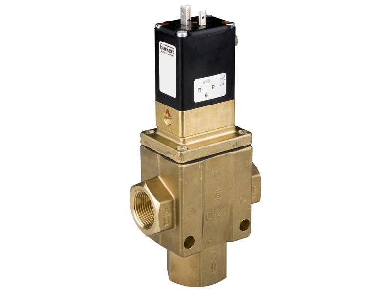Клапан электромагнитный проходной мембранный, 24В