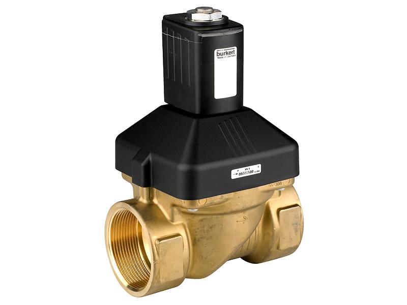 Клапан электромагнитный запорный мембранный, 110В