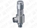 492. Клапан предохранительный из нержавеющей стали (DN 10…15; PN 50…630)