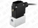 0121. Клапан электромагнитный 2/2-3/2-ходовой с разделительной мембраной (DN 2,0...8,0; PN 0...4)