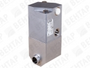2080. Клапан запорный с пневмоприводом (сильфон PTFE)