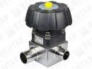 3234. Клапан мембранный T-образный с маховиком