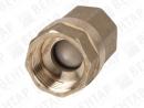 EUROSTOP. Клапан обратный пружинный из латуни